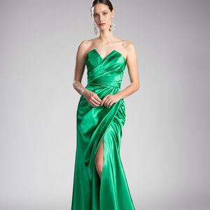 Sweetheart Neck Long Prom Dress CDCF290